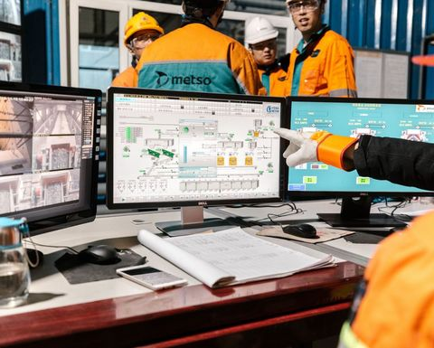 Chinese Hunchun Zijin mine improved production efficiency by 18%