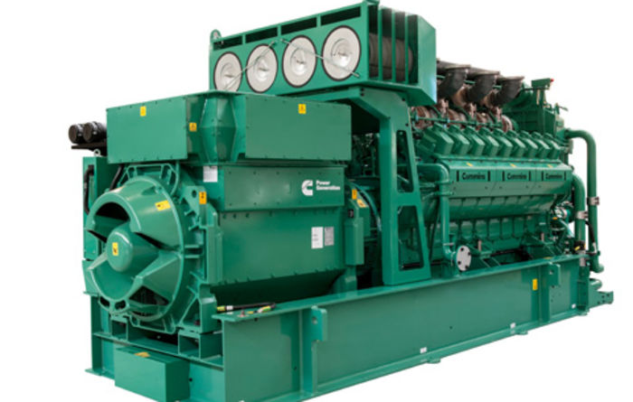 Cummins launches lean-burn gas genset