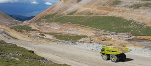 MTU engines power trucks at high-altitude Tibet mine