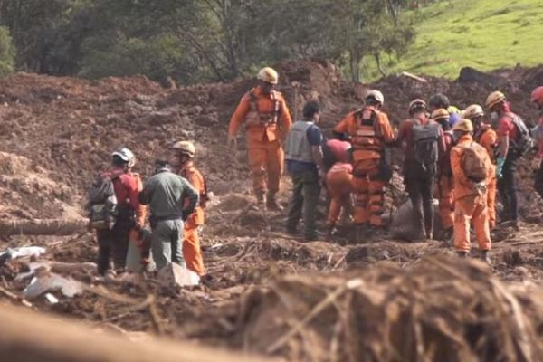 escue operations underway in the wake of ales rumadinho dam collapse