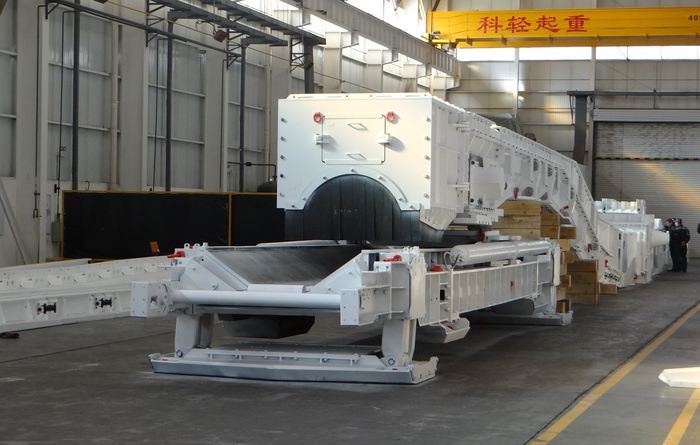 Caterpillar manufactures complete longwall AFC