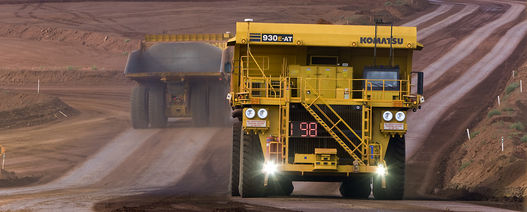 Komatsu operates AHS over dedicated private LTE network