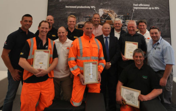 MP Awards and Finning launch operator gold standard
