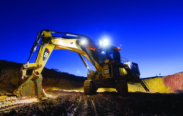 New Cat 6020B hydraulic mining shovel
