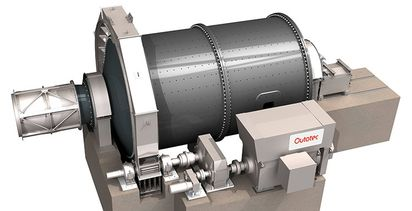 Outotec to provide pair of mills for Mexican plant