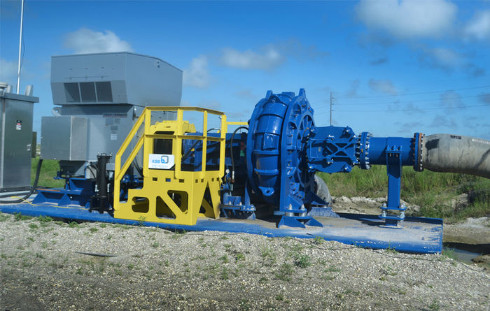 GIW's WBC matrix hydrotransport pump provides service in long-distance pumping