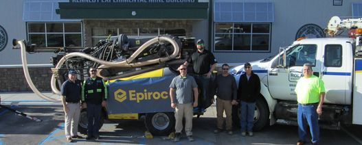 Epiroc donates drill rig to US university