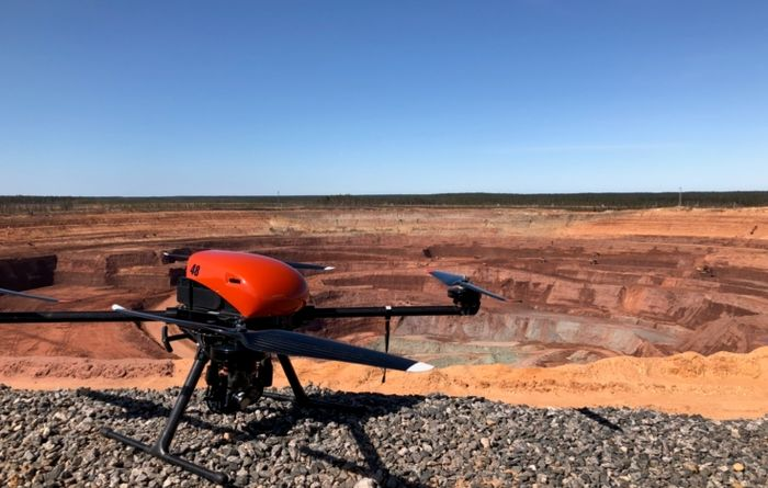 Severalmaz tests UAVs at Lomonosov