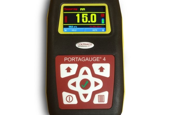 New metal thickness gauge from Coltraco