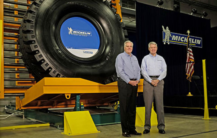 Michelin opens new plant in South Carolina