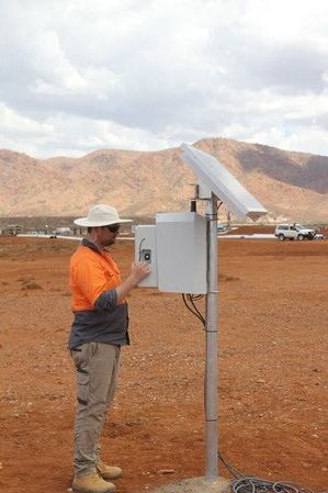 is an autonomous offgrid system which delivers continuous data streams from remote locations