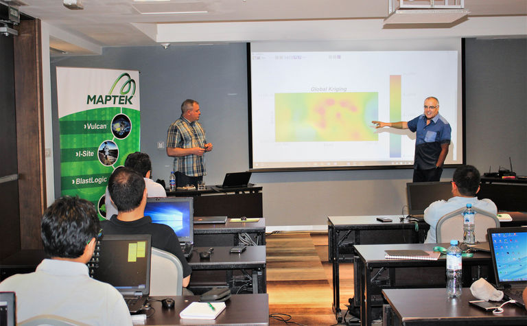 Maptek launches geostatistical modelling course