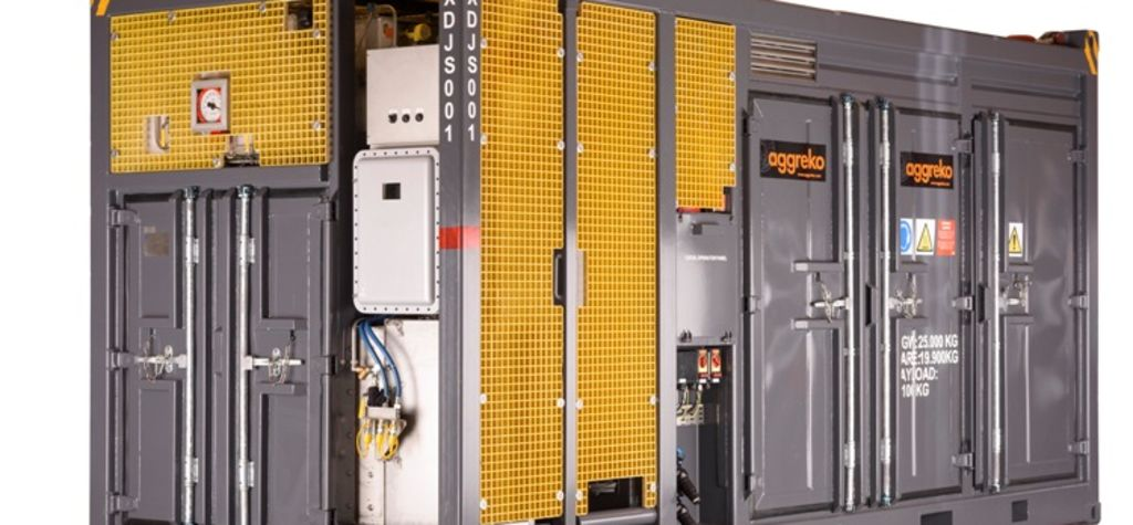 Aggreko takes delivery of safety genset