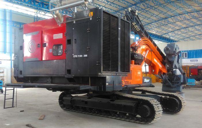 CP compressors support drilling in India