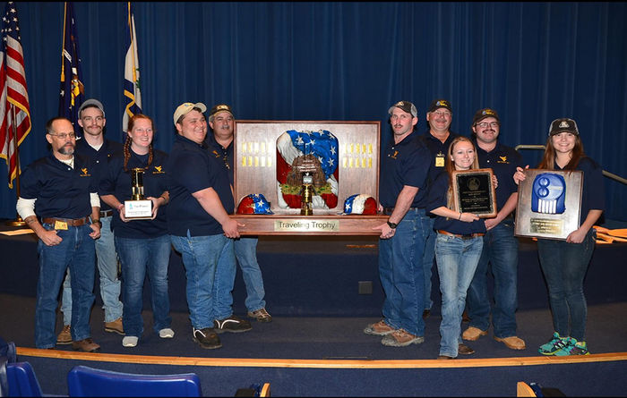 WVU mine rescue teams top competition