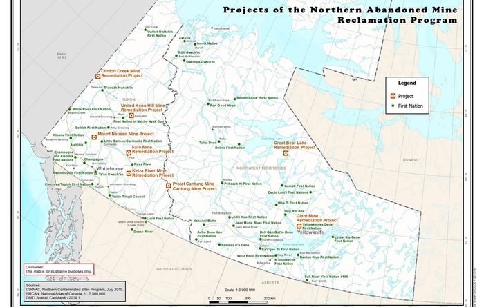 Canadian government batting clean-up for abandoned mines