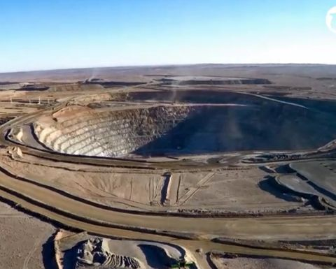 Pitram software in use at Oyu Tolgoi