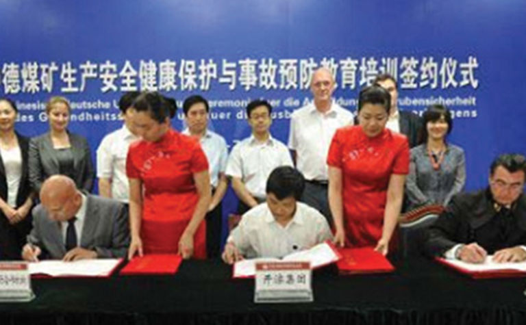 RAG signs Chinese collaboration deal