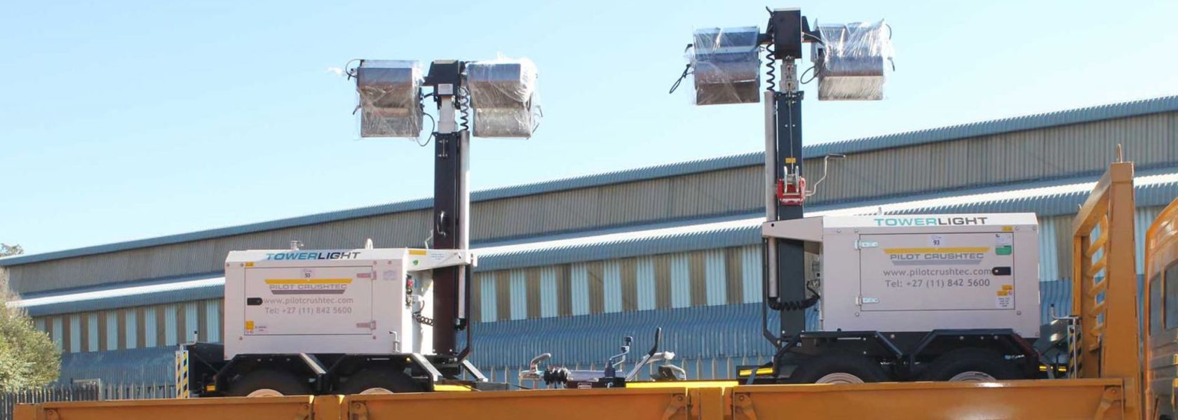 Pilot Crushtec supplies light systems to South African coal mine