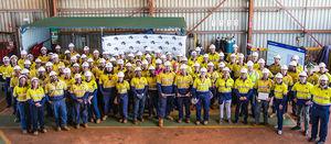 Thiess opens new apprentice class - Mining Magazine