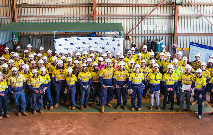 Fortescue graduates largest-ever apprentice class