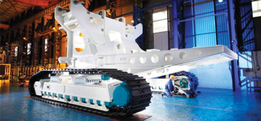 SMD begins assembly of seafloor cutter for Nautilus Minerals