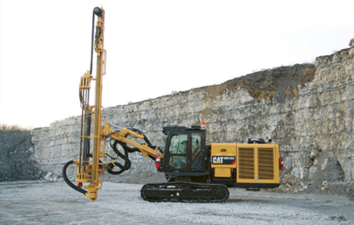 Cat MD5150C track drill launched