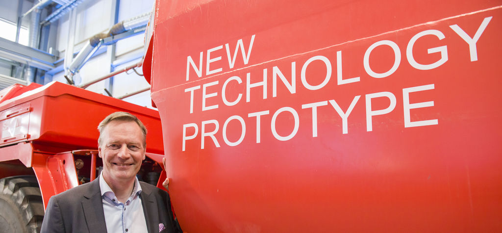 Sandvik opens BEV research centre in Finland