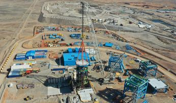 Shaft 4 at Oyu Tolgoi progresses