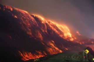 Hazelwood coal mine fire Victoria Australia 2014