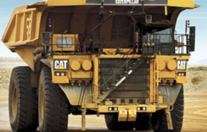 Cat signs haul-truck deal with FMG