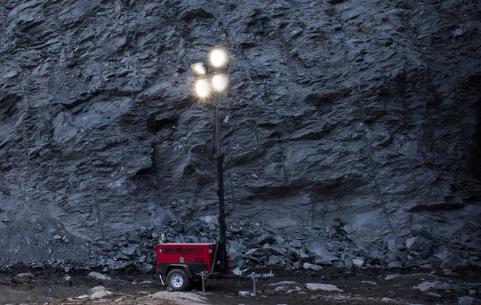 Diesel Power chooses Chicago Pneumatic lights