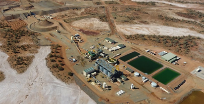 Mt Morgans processing plant