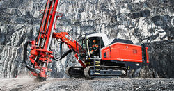 Sandvik launches intelligent DTH surface drill rig
