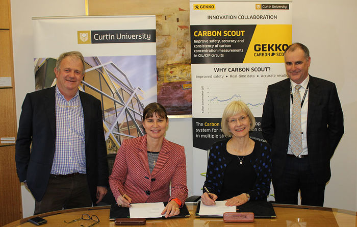 Curtin University signs agreement with Gekko