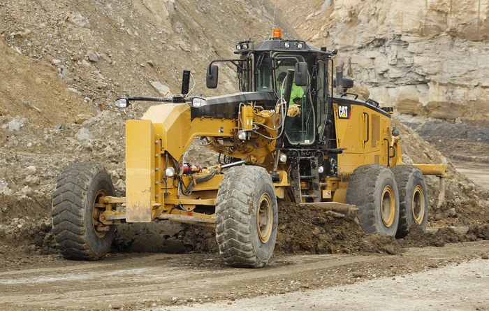 Caterpillar launches 18M3 motor grader