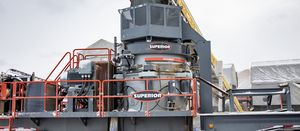 Superior releases P500 Patriot cone crusher