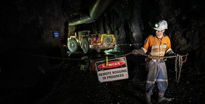 UG remote operation success at WA mine