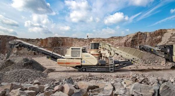 he etso okotrack 200 mobile cone crushing plant