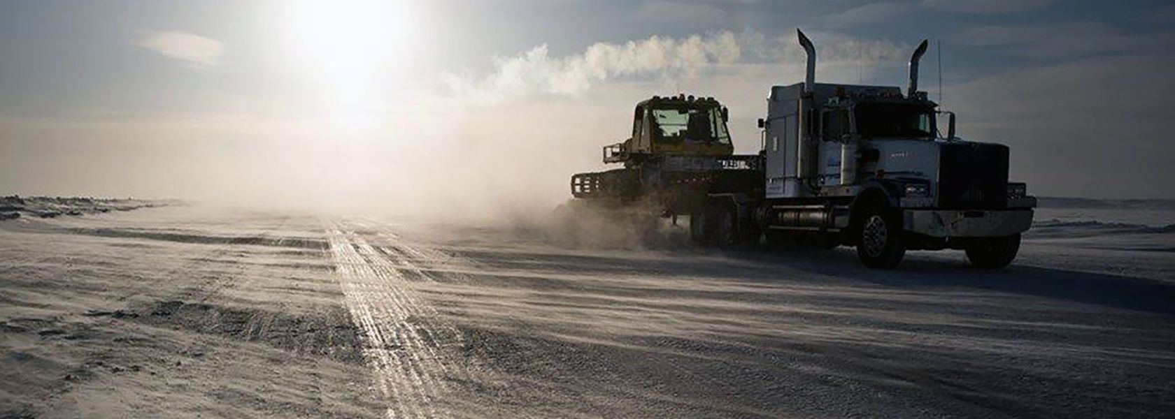 Record ice road season for De Beers