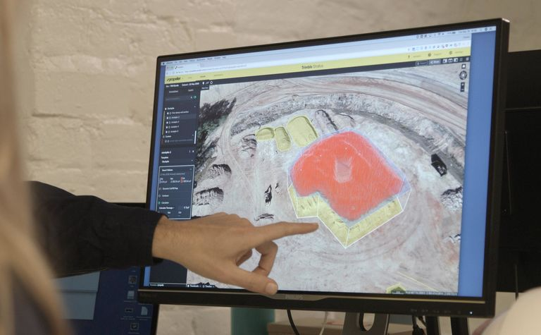 Drones feed into digitalised workflow