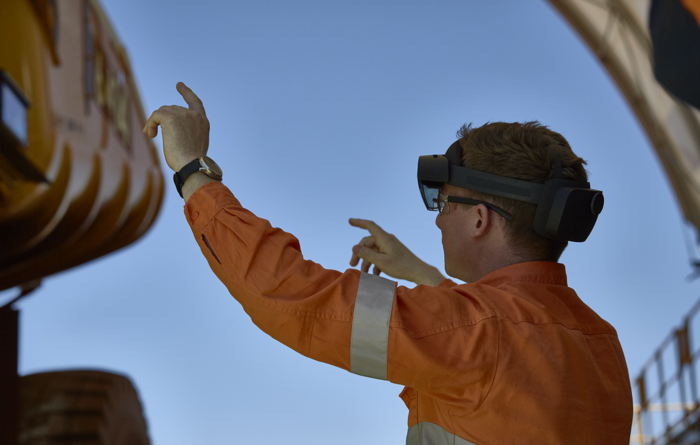 Mixed reality helps BHP stay COVID-19 safe