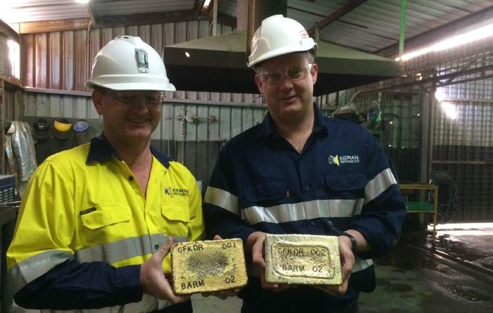 Kidman pours first gold at Burbanks