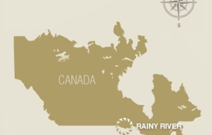 First gold for New Gold at Rainy River