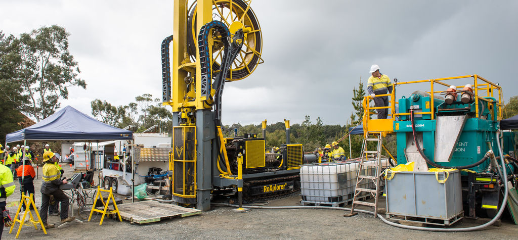 Pioneering exploration drill rig steps closer to market